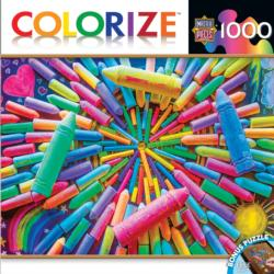 Colors of Childhood (Colorize) Collage Jigsaw Puzzle