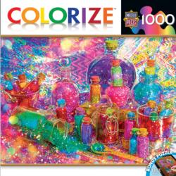 Glitter Daze Everyday Objects Jigsaw Puzzle
