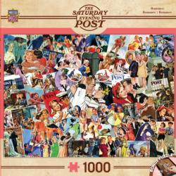 Romance Collage (The Saturday Evening Post) Collage Jigsaw Puzzle