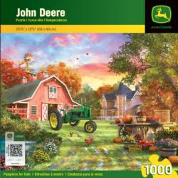 Pumpkins for Sale John Deere Jigsaw Puzzle
