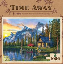 Living the Dream Sunrise / Sunset Jigsaw Puzzle
