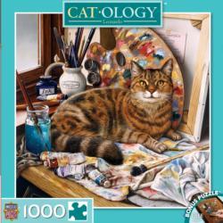 Leonardo (Cat-ology) Cats Jigsaw Puzzle