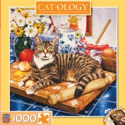 Wilberforce (Catology) Domestic Scene Jigsaw Puzzle