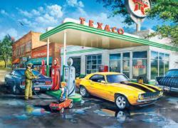 Pop's Quick Stop Nostalgic / Retro Jigsaw Puzzle