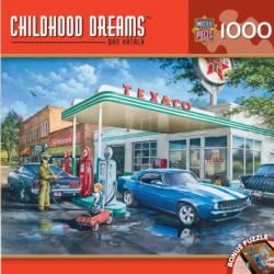 Pop's Quick Stop (Childhood Dreams) Nostalgic / Retro Jigsaw Puzzle