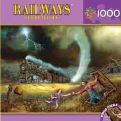 Tornado Alley Trains Jigsaw Puzzle