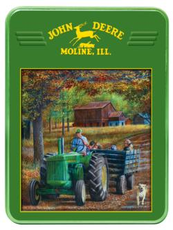 Ride Along (John Deere Tin) John Deere Collectible Packaging