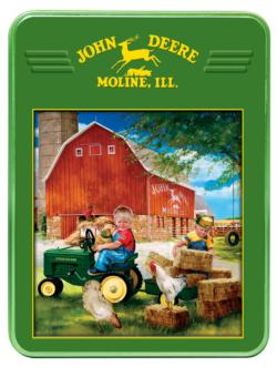 Growing up Country John Deere Jigsaw Puzzle