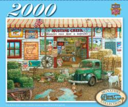 Farm & Fleet Store (Signature Series) Nostalgic / Retro Jigsaw Puzzle