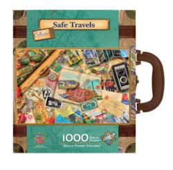 Safe Travels - Scratch and Dent Collage Collectible Packaging