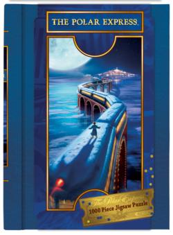 The Polar Express (Book Boxes) Snow Jigsaw Puzzle