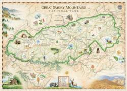 Great Smoky Mountains National Park - Xplorer Maps Maps Jigsaw Puzzle