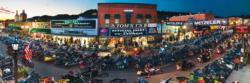 Sturgis, South Dakota Motorcycles Panoramic Puzzle