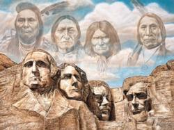 Founding Fathers Native American Jigsaw Puzzle