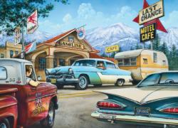 On the Road Again Nostalgic / Retro Jigsaw Puzzle