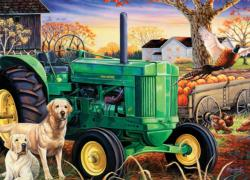 Morning Work Crew Farm Jigsaw Puzzle