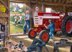 Red Power Farmall Jigsaw Puzzle