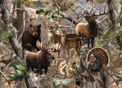Open Season Collage Jigsaw Puzzle