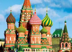 St. Basil's Cathedral Churches Jigsaw Puzzle