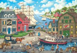 Seagulls Delight Seascape / Coastal Living Jigsaw Puzzle