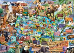 National Parks of America National Parks Jigsaw Puzzle