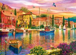 Sailor's Glow (Colorscapes) Seascape / Coastal Living Jigsaw Puzzle