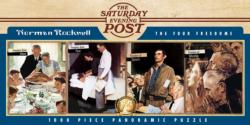 The Four Freedoms (Saturday Evening Post) Magazines and Newspapers Panoramic Puzzle
