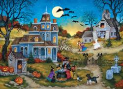 Halloween - Three Little Witches Halloween Jigsaw Puzzle