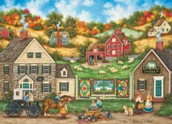Great Balls of Yarn (Hometown Gallery) - Scratch and Dent Nostalgic / Retro Jigsaw Puzzle