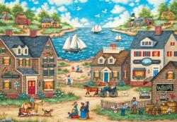 Mr. Wiggins Whirligigs - Scratch and Dent Seascape / Coastal Living Large Piece