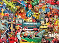 Toyland Nostalgic / Retro Jigsaw Puzzle