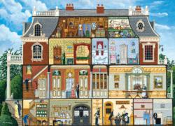 Walden's Manor House Domestic Scene Jigsaw Puzzle