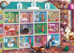 Sophia's Dollhouse (Inside Out) Domestic Scene Jigsaw Puzzle