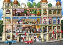 Fields Department Store (Inside Out) - Scratch and Dent Street Scene Jigsaw Puzzle