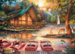 Seize the Day - Scratch and Dent Lakes / Rivers / Streams Jigsaw Puzzle