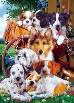 Ready for Work Dogs Jigsaw Puzzle