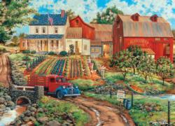 Grandma's Garden Garden Jigsaw Puzzle