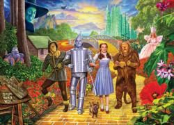 Off To See the Wizard Wizard of Oz Jigsaw Puzzle