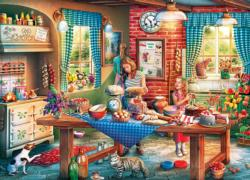 Baking Bread Kitchen Jigsaw Puzzle