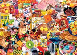 Breakfast of Champions Collage Impossible Puzzle