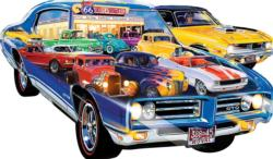 Hot Rod - Scratch and Dent Cars Jigsaw Puzzle