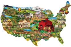 United States - Scratch and Dent United States Jigsaw Puzzle