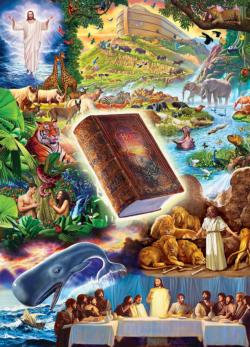 The Holy Bible Collage Jigsaw Puzzle