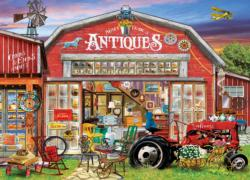 Antiques for Sale Nostalgic / Retro Jigsaw Puzzle