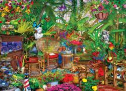 Garden Hideway Garden Jigsaw Puzzle