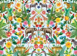 Safari Flowers Jigsaw Puzzle