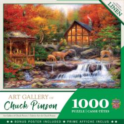Colors of Life - Scratch and Dent Cottage / Cabin Jigsaw Puzzle