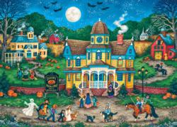 The Tag Along Halloween Jigsaw Puzzle