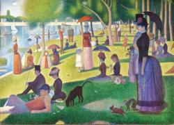 A Sunday on La Grande Jatte Fine Art Jigsaw Puzzle