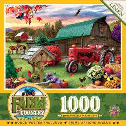 Harvest Ranch Farm Jigsaw Puzzle